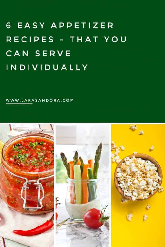 Easy Appetizer Recipes - that You Can Serve Individually
