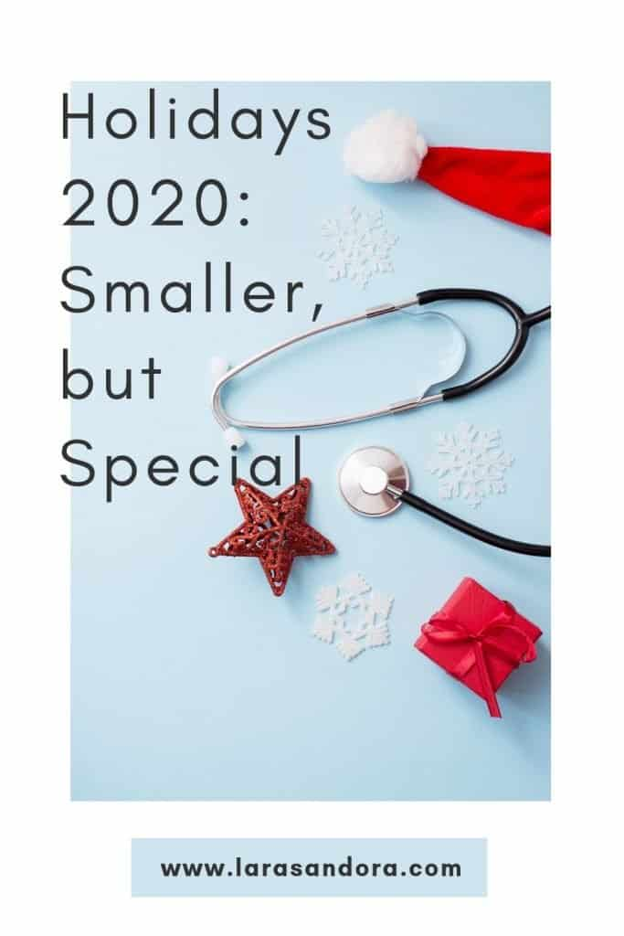 Holidays 2020: Smaller, Quieter, Distanced, Still Festive and Special