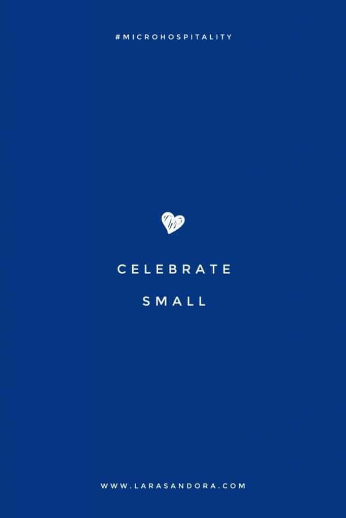 Celebrate Small: Festive recipes for a new era