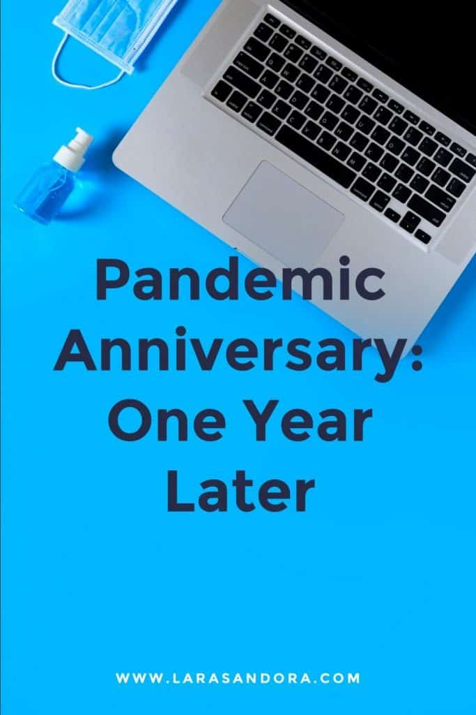 Pandemic Anniversary: One Year Later