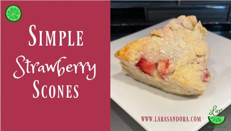 Simple Strawberry Scones