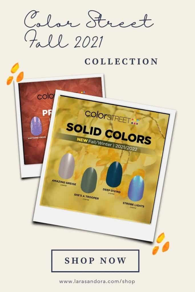 The Color Street Fall 2021 Collection: Solids