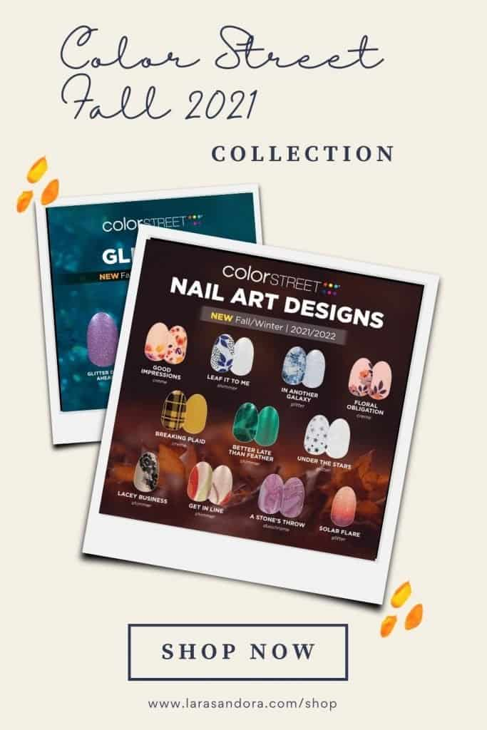 The Color Street Fall 2021 Collection: Nail Art Designs