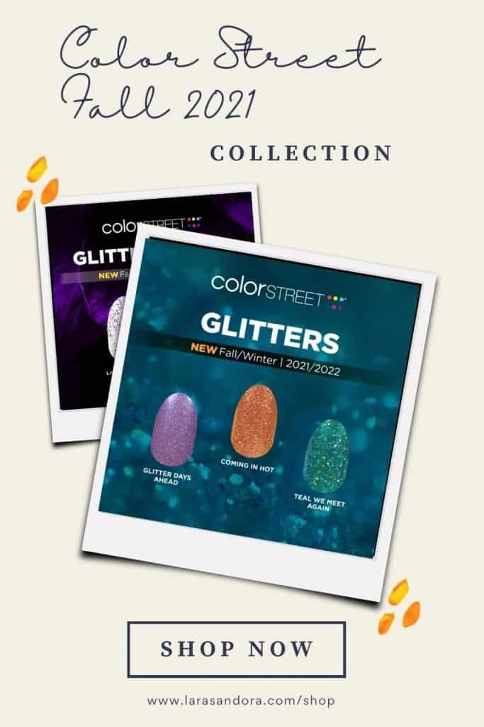 The Color Street Fall 2021 Collection: Glitters